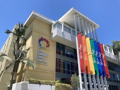 The Los Angeles LGBT Center on Rand Schrader Boulevard in Hollywood