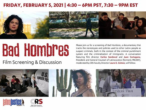 Poster from Bad Hombres