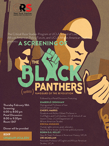 Black Panthers: Vanguard of the Revolution: Screening and Discussion