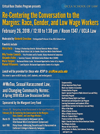 Re-Centering the Conversation to the Margins: Race, Gender, and Low Wage Workers