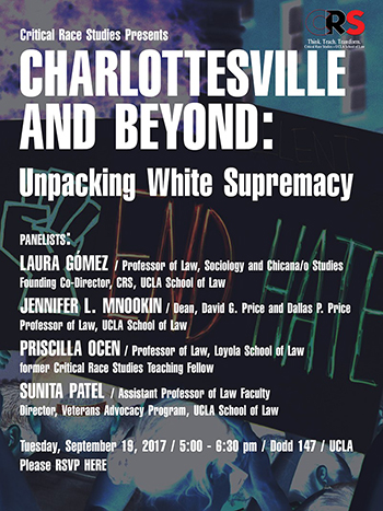 Charlottesville and Beyond: Unpacking White Supremacy