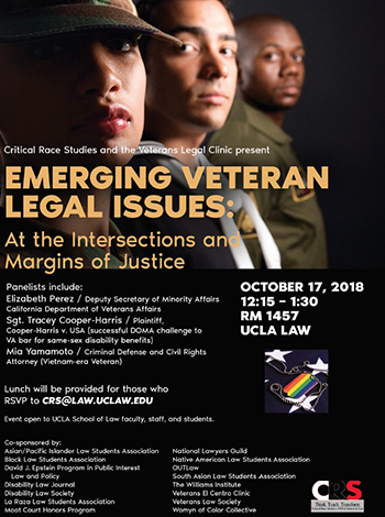 Emerging Veteran Legal Issues: At the Intersections and Margins of Justice
