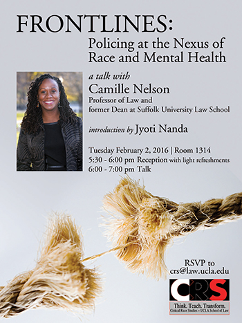 Frontlines: Policing at the Nexus of Race and Mental Health