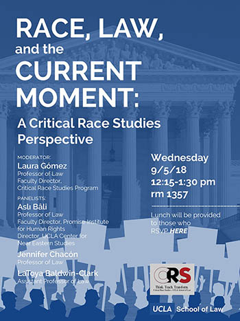Race, Law, and the Current Moment: A Critical Race Studies Perspective