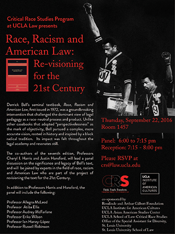 Race, Racism and American Law, Re-visioning for the 21st Century