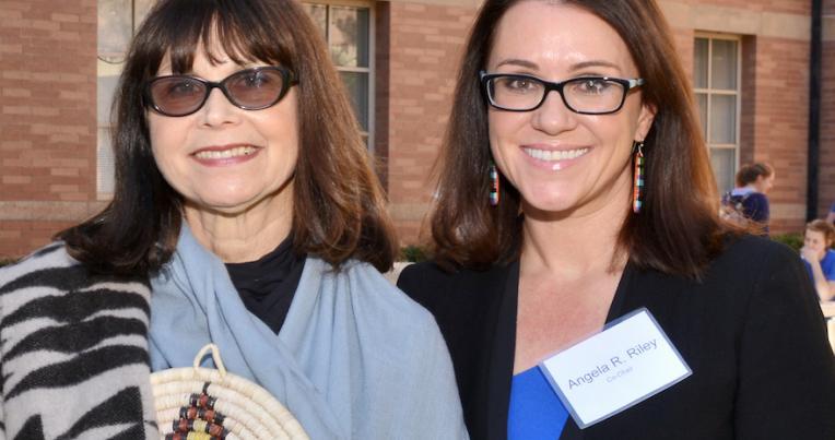 UCLA Law Professors Carole Goldberg and Angela Riley