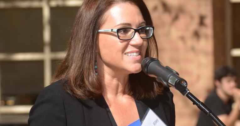 UCLA Law Professor Angela Riley