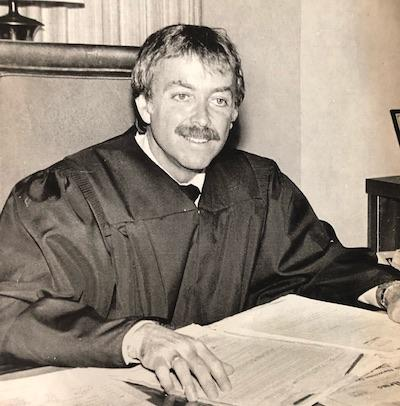 UCLA Law alumnus Stephen Lachs, the world's first openly gay judge