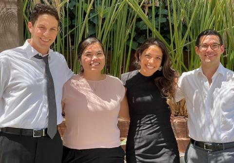 Students in UCLA Law's Appellate Prisoners' Rights Clinic