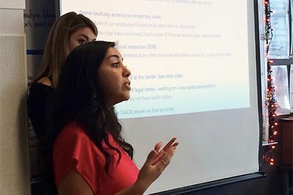 UCLA Law student Christina Avalos
