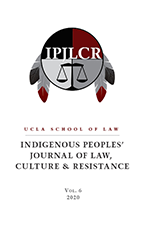 The Indigenous Peoples' Journal of Law, Culture, and Resistance