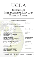 Journal of International Law & Foreign Affairs