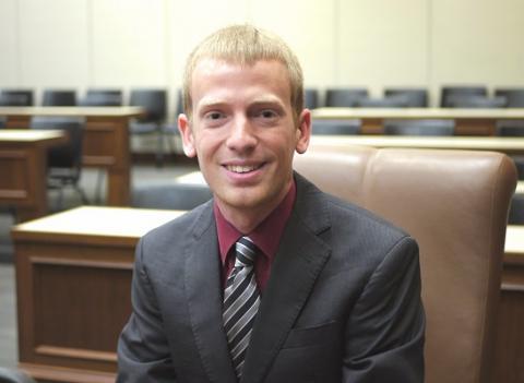 UCLA School of Law alumnus Travis Bell '17