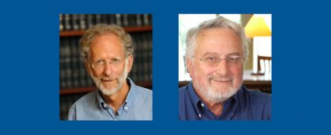 UCLA School of Law emeritus professors Richard Abel and Joel Handler