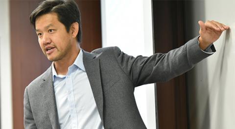 Alex Wang, professor at UCLA School of Law