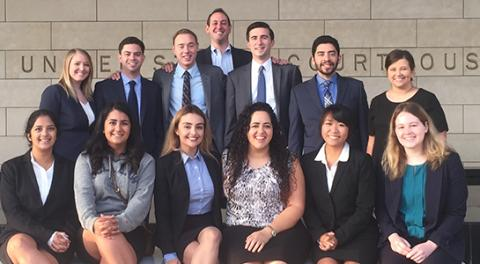 The A. Barry Cappello Trial Team