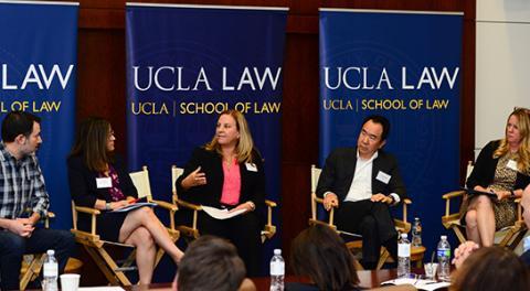 From left: Douglas Lichtman, Betsy Zedek, Rebecca Borden, Steve Kang and Karen Thorland.