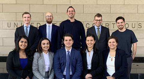 UCLA School of Law's Cappello Trial Team