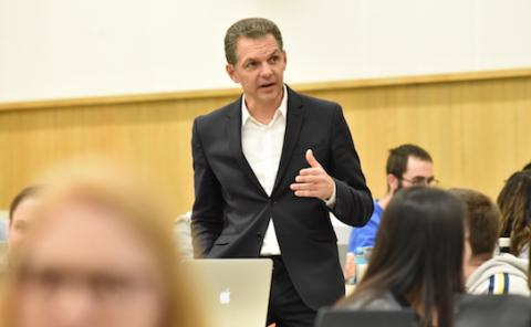 UCLA School of Law Professor Scott Cummings