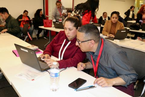More than 650 members of the UNITE HERE Local 11 union have completed unemployment insurance applications with help from UCLA Law students and other volunteers.